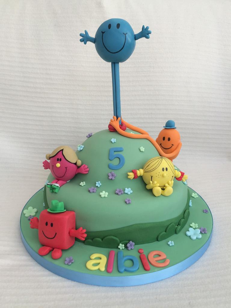 Men Birthday Cakes Mr Men Birthday Cake Cake Creations