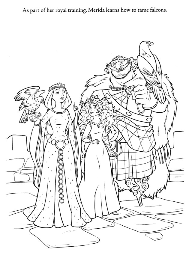Merida Coloring Pages Brave Images Brave Coloring Pages Hd Wallpaper And Background Photos