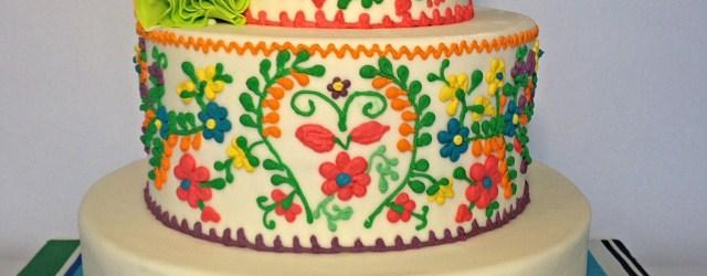 Mexican Birthday Cake Mexican Fiesta Birthday Cake My Work Wwwfacebookroyal
