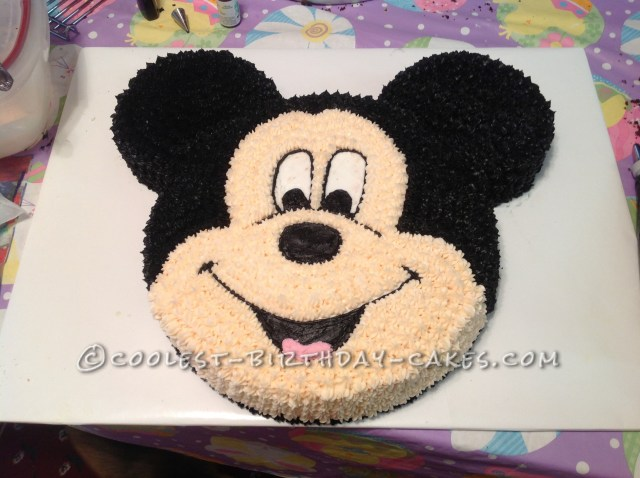 Mickey Mouse Birthday Cake Coolest Mickey Mouse Birthday Cake