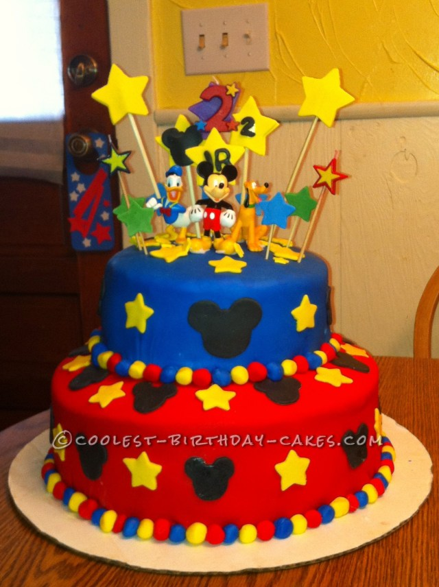 Mickey Mouse Birthday Cake Ideas Coolest 1000 Homemade Birthday Cakes You Can Make Bolos