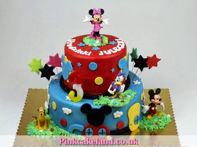 Mickey Mouse Birthday Cake Ideas Mickey Mouse Clubhouse Birthday Cakes