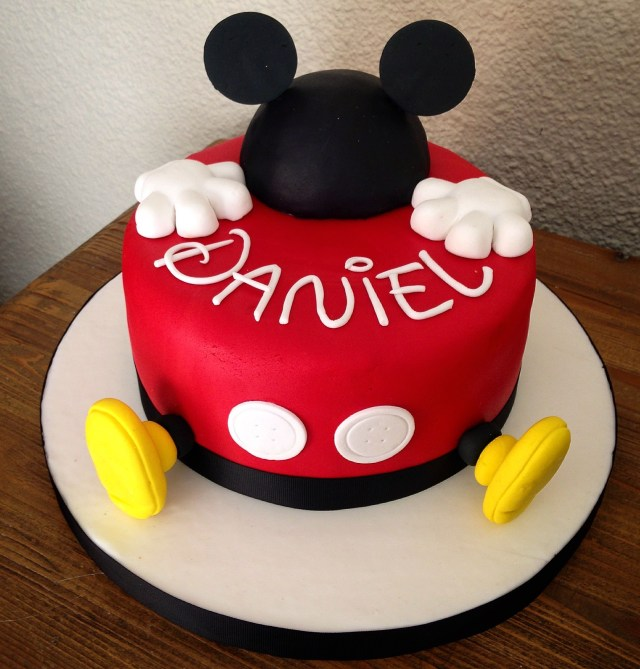 Mickey Mouse Birthday Cake Mickey Mouse Cake Cakesme Mickey Mouse Birthday Mickey Mouse
