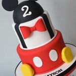 Mickey Mouse Birthday Cake Mickey Mouse Themed Cake K Noelle Cakes Disneys Mickeyminnie