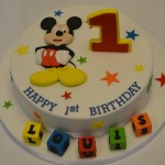 Mickey Mouse Clubhouse Birthday Cakes Mickey Mouse 1st Birthday Cake Celebration Cakes Cakeology