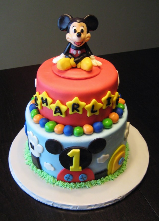 Mickey Mouse Clubhouse Birthday Cakes Mickey Mouse Cake Decoration Ideas Little Birthday Cakes