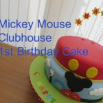 Mickey Mouse Clubhouse Birthday Cakes Mickey Mouse Clubhouse 1st Birthday Cake Youtube