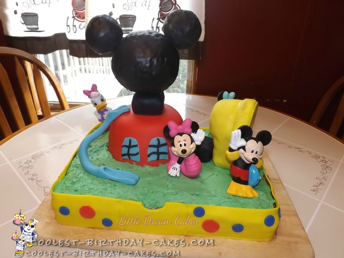 Mickey Mouse Clubhouse Birthday Cakes Mickey Mouse Clubhouse Birthday Cake