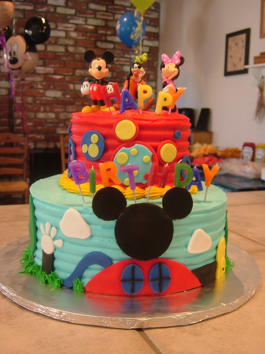 Mickey Mouse Clubhouse Birthday Cakes Mickey Mouse Clubhouse Cake Amber Channell I Need You To Learn How