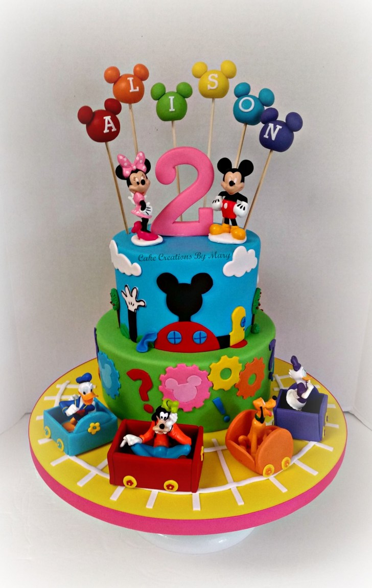 35+ Marvelous Photo of Mickey Mouse Clubhouse Birthday Cakes