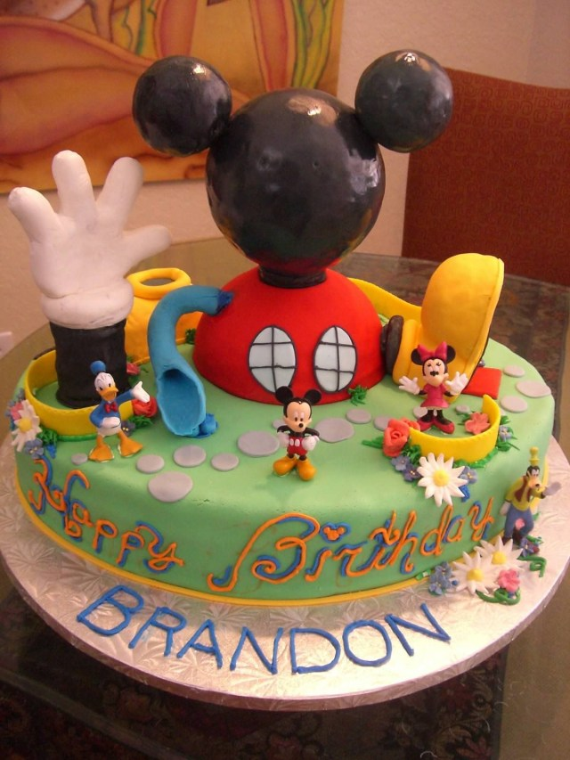 Mickey Mouse Clubhouse Birthday Cakes Mickey Mouse Clubhouse Cake Recipes Mickey Mouse Birthday Cake