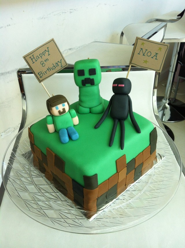 Minecraft Birthday Cake Toppers Minecraft Cake Ba Kids Pinterest Minecraft Cake Cake And
