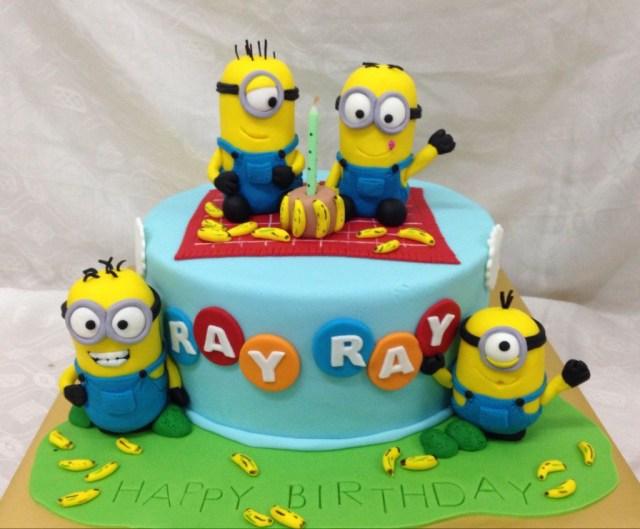 Minions Birthday Cake Top 10 Crazy Minions Cake Ideas Birthday Express