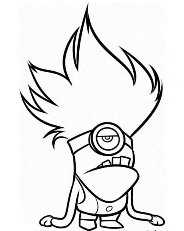 Minions Coloring Pages Minion Coloring Pages Only Coloring Pages