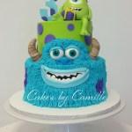 Monster Birthday Cake 12 Sully Monsters Inc Birthday Cakes Photo Sully Monster Birthday
