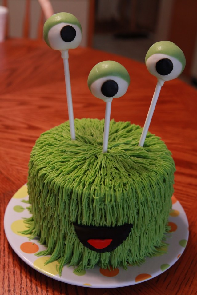 Monster Birthday Cake Monster Birthday Cakes