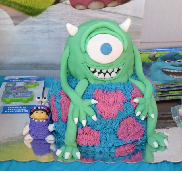 Monster Birthday Cake Monsters Inc Birthday Cake Do It Yourself
