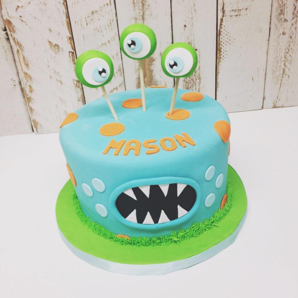 Monster Birthday Cake Nashville Sweets