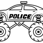 Monster Jam Coloring Pages Monster Truck Coloring Pages Bitslice