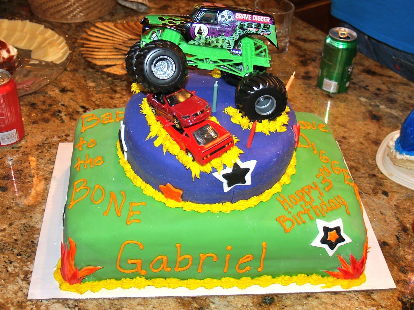 Monster Truck Birthday Cakes Baking Memories Monster Truck Birthday ...