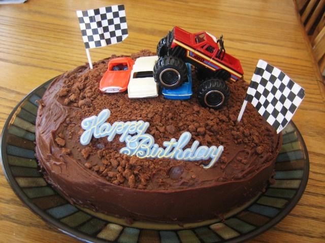 Monster Truck Birthday Cakes Monster Truck Birthday Cake Decoration Ideas Wedding Academy