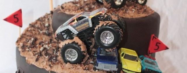 Monster Truck Birthday Cakes Monster Truck Cakes Monster Truck Cake Hunters 4th Birthday