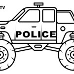 Monster Truck Coloring Page Monster Truck Coloring Pages