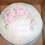 Mother Birthday Cake 12 Birthday Cake For Mother Rebekahs Custom Bakery In Granbury Tx