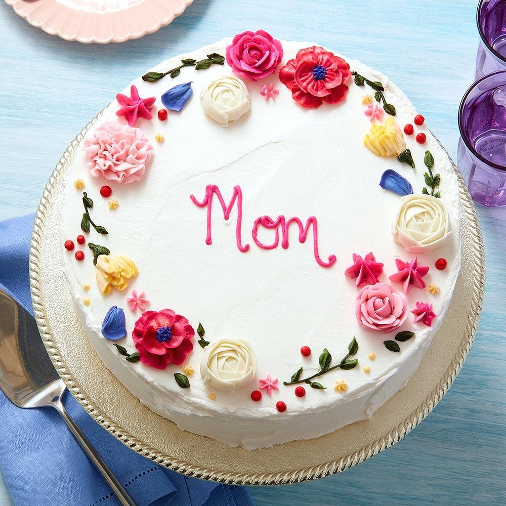 Mother Birthday Cake Ideas For Moms 50th