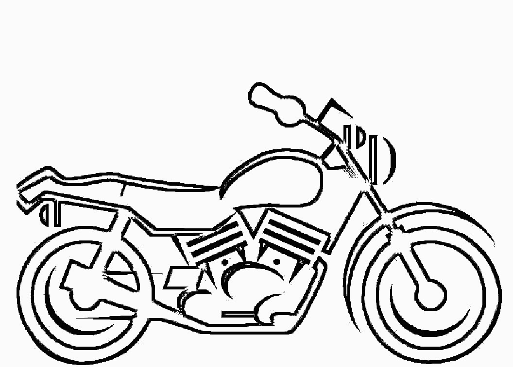 Motorcycle coloring pages free printable motorcycle coloring pages for kids for motorcycle