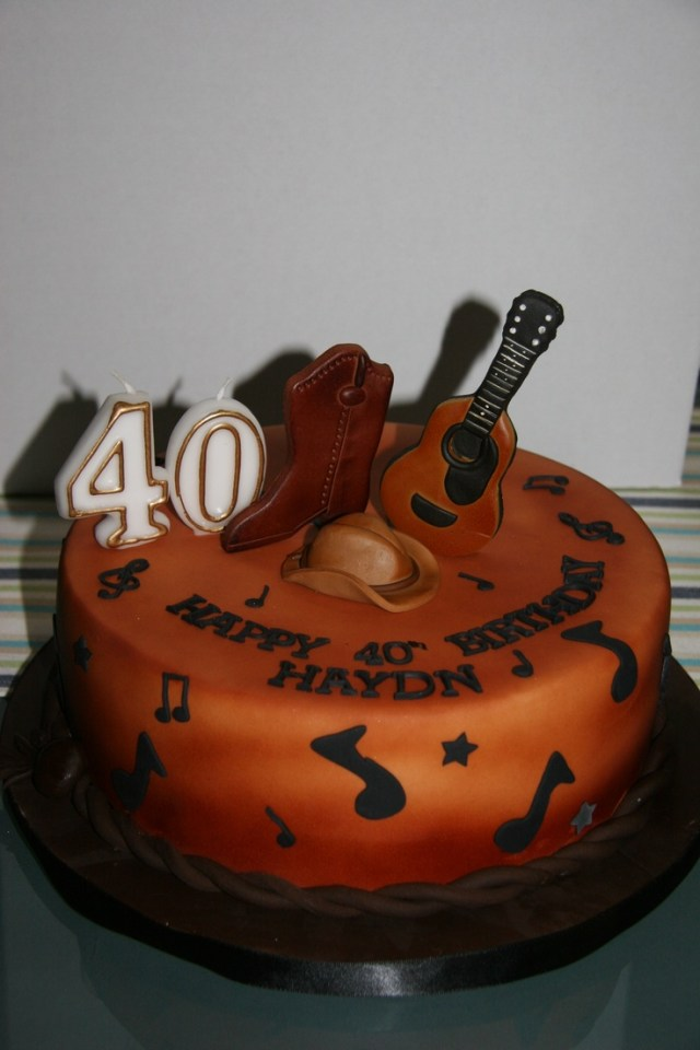 Music Birthday Cakes 8 Country Music Themed Birthday Cakes Photo Country Western Music