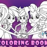 My Little Pony Coloring Pages My Little Pony Coloring Book Equestria Girls Friendship Mlp