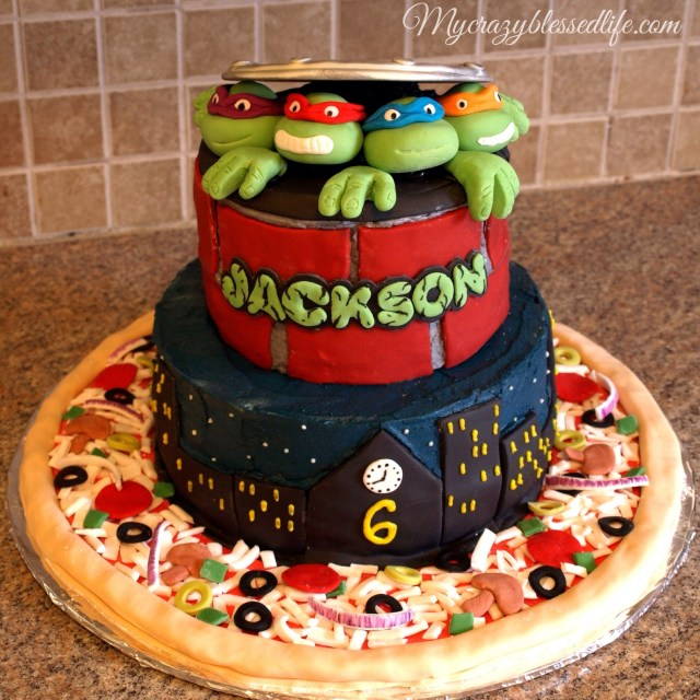 Ninja Turtles Birthday Cake Ninja Turtles Cake My Crazy Blessed Life