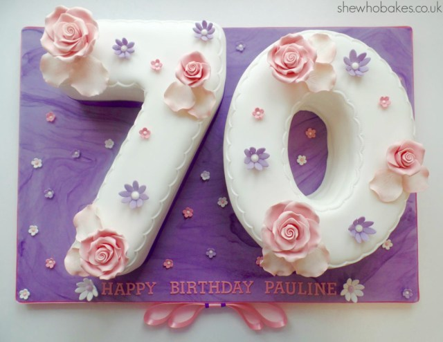 Number Birthday Cakes How To Bake And Ice A Number Cake She Who Bakes