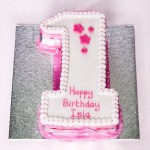 Number Birthday Cakes Single Number Sponge Cakes The Christmas Bakery