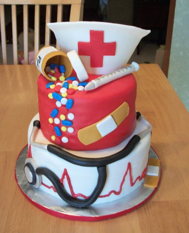 Nurse Birthday Cake Bellissimo Specialty Cakes Nurse Cake 1010
