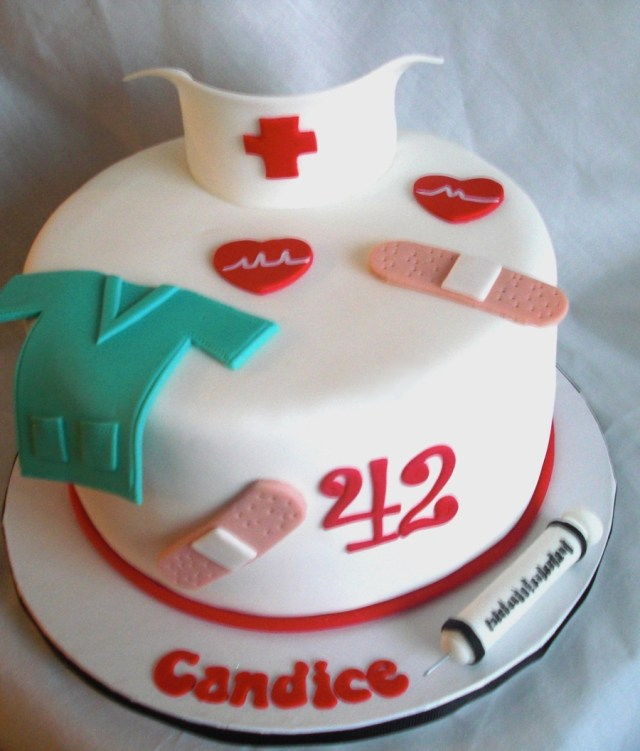 Nurse Birthday Cake Nurses Birthday Cake Cakecentral