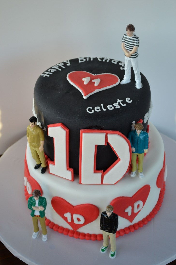 32+ Pretty Picture of One Direction Birthday Cake