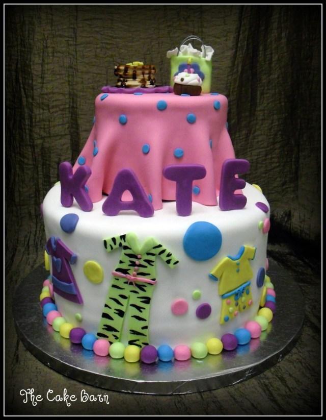 Pancake Birthday Cake Pancakes And Pajamas Themed Birthday Cake Cakecentral