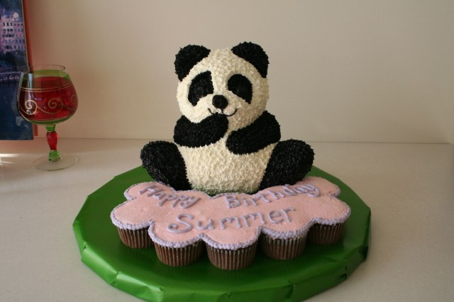 Panda Birthday Cake Panda Bear Birthday Cake Cakecentral