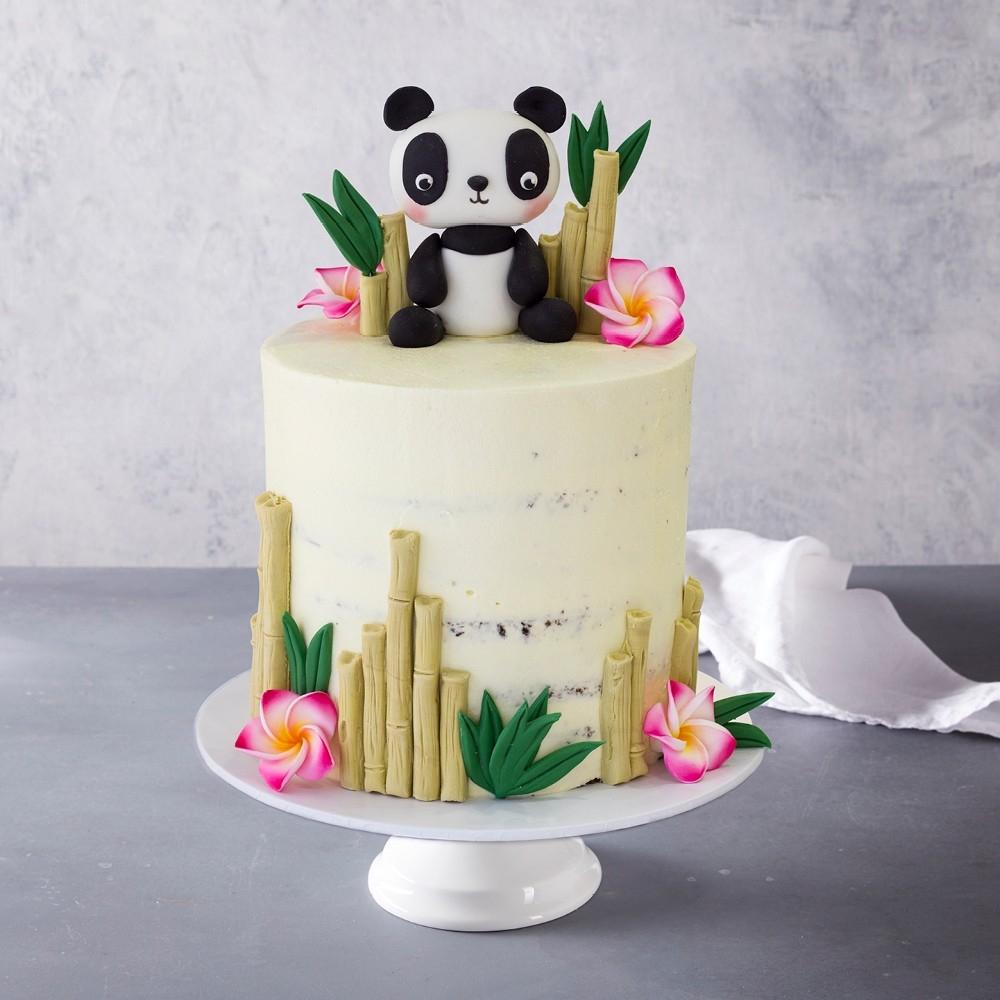 Panda Birthday Cake Panda Bear Birthday Cake