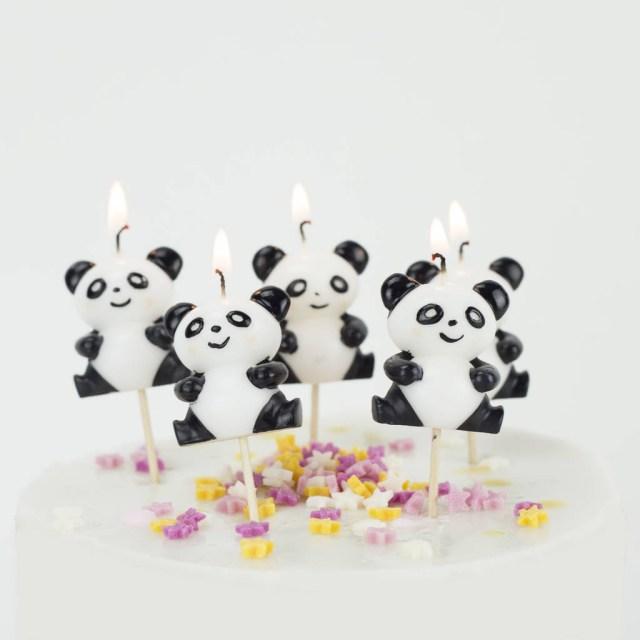 Panda Birthday Cake Panda Birthday Cake Candles We Love To Create