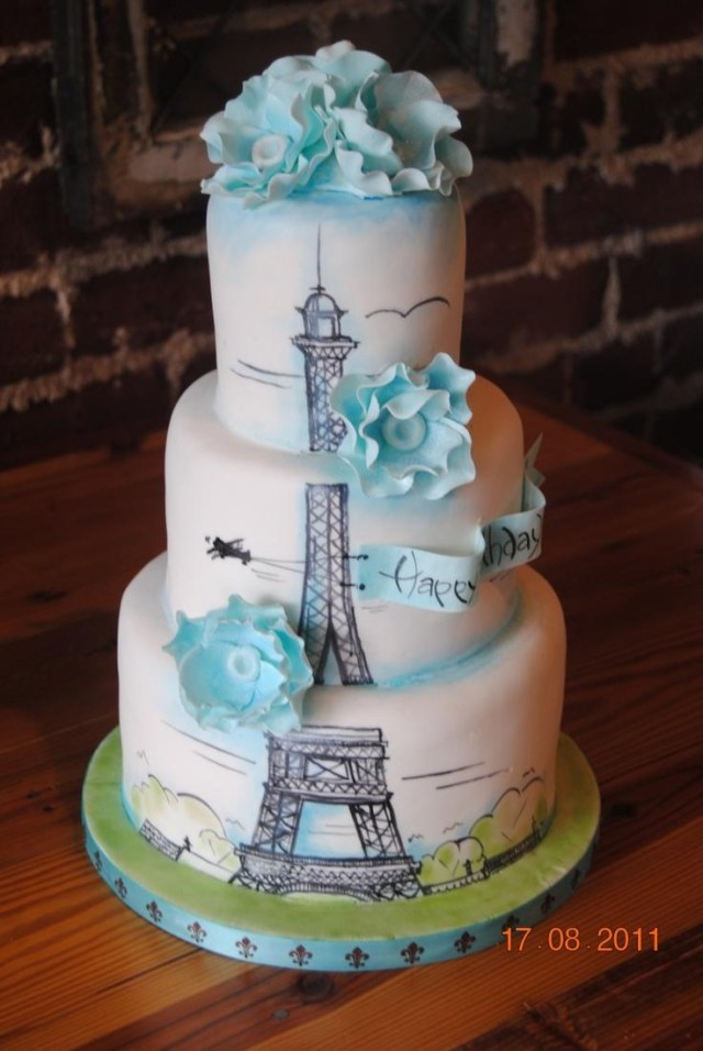 Paris Birthday Cakes Hochzeits Thema Paris Birthday Cake Birthday Cakes 2351363