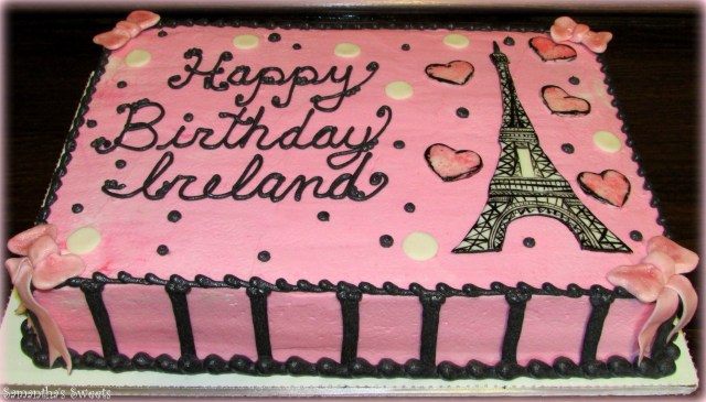 Paris Birthday Cakes Paris Inspired Birthday Cake Wwwsamantha Sweets Paris Cake