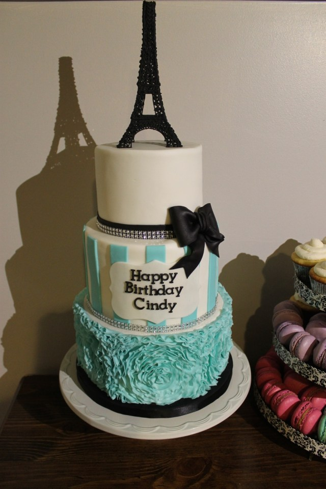 Paris Birthday Cakes Paris Themed Birthday Cake Cakecentral