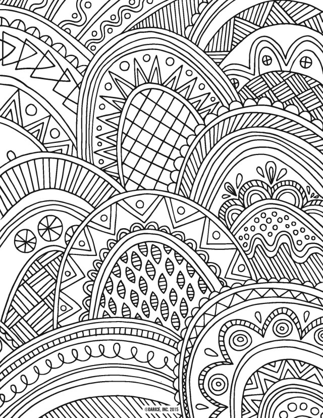 Pattern Coloring Pages Simple Pattern Coloring Pages At Getdrawings Free For Personal