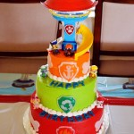 Paw Patrol Birthday Cake Toppers A Few Diy Details For A Paw Patrol Party Customized Store Bought