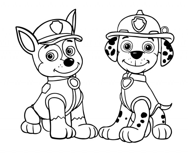 Paw Patrol Coloring Pages Coloring Pages 56 Paw Patrol Coloring Chase Picture Ideas Chase