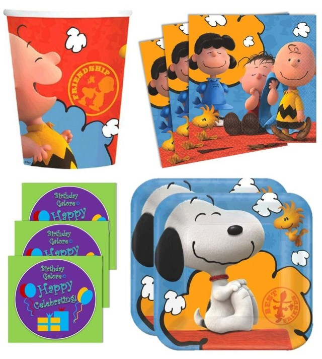 Peanuts Birthday Cake Snoopy Birthday Cake Kids Birthday Parties