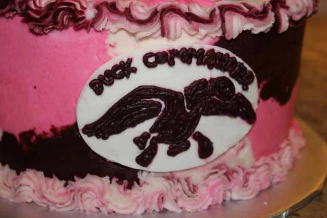 Pink Camo Birthday Cakes A Blissful Bash Pink Camouflage Duck Dynasty Cake